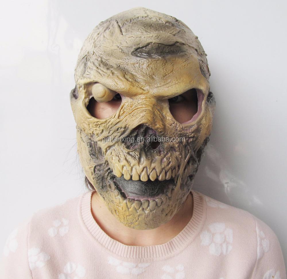 Wholesale Alien Skull Face Mask Halloween Horror Party Skull Head ...