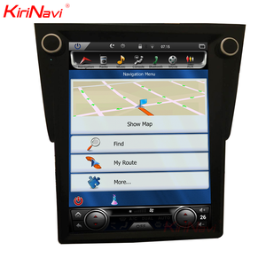 "KiriNavi Vertical Screen Tesla Style android 6.0 12.1"" car gps navigation system for Ford Taurus dvd radio"