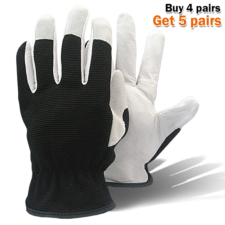 Горячий продукт свиной кожи рабочие перчатки сварка пальто кожа садоводство перчатки механика рабочие перчатки