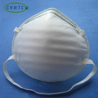 carbon n95 folded dust mask/respirator