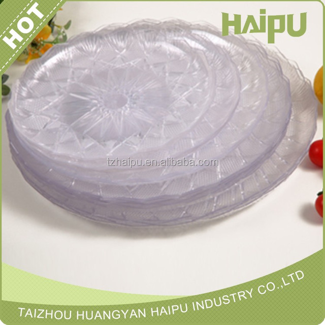disposable plastic plate clear fruit plate & China Clear Plastic Plate Wholesale 🇨🇳 - Alibaba