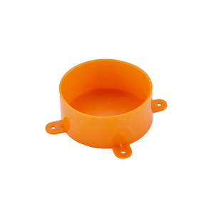 Orange Color PVC Disposable Lid AS/NZS 2053 Pipe Fittings
