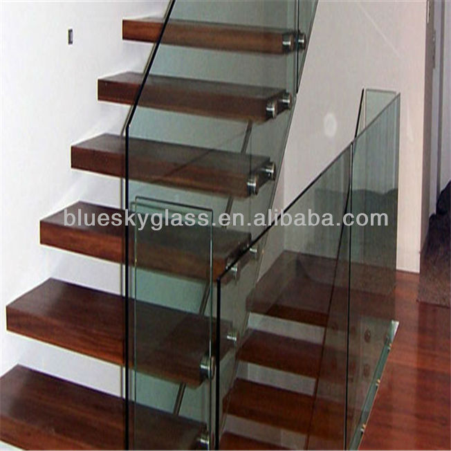 china lieferant 5mm 6mm 8mm innen glas treppengel nder mit so ce zertifikat geb udeglas produkt. Black Bedroom Furniture Sets. Home Design Ideas