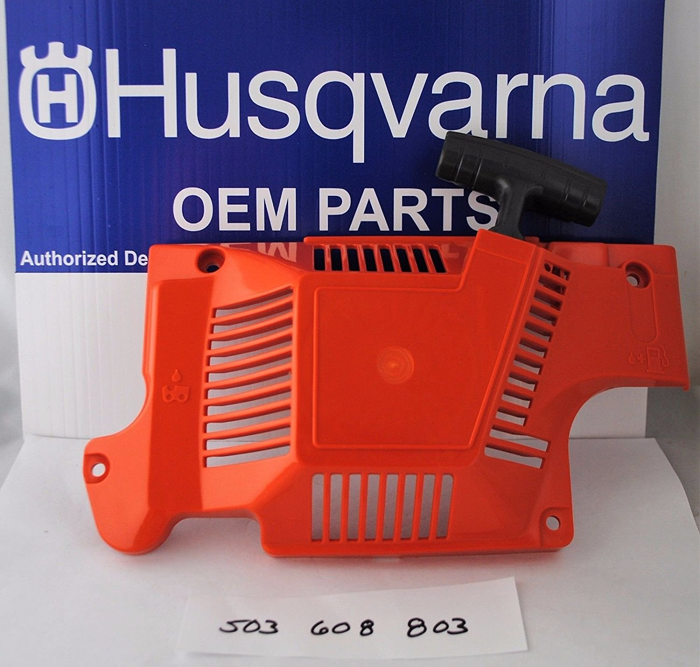 Genuine Husqvarna Oem 503608803 Chainsaw Starter Recoil Assmebly Fits 51 55