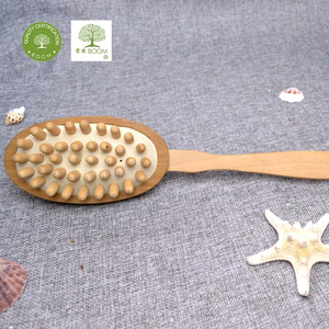 11 years experience professional wooden bath brush manufacturer, Eco-Friendly wooden body brush