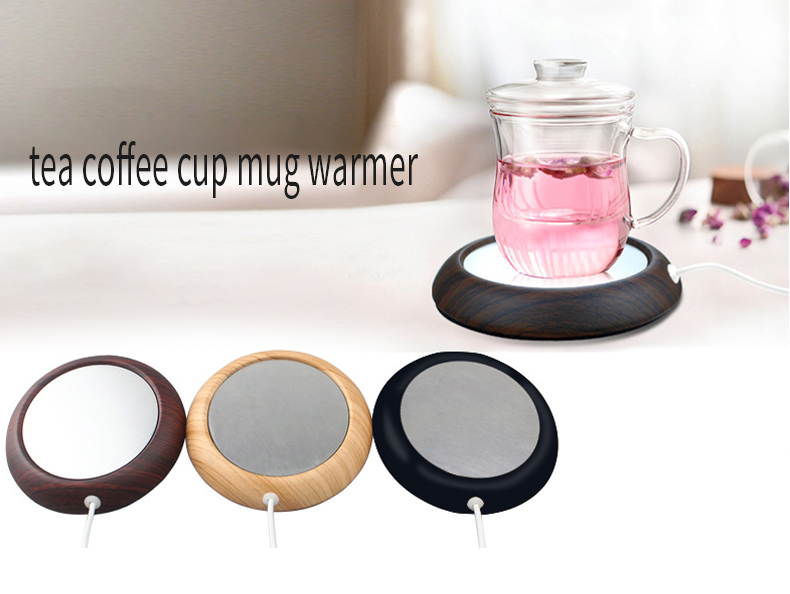 Desktop USB Heated Coffee Warmer