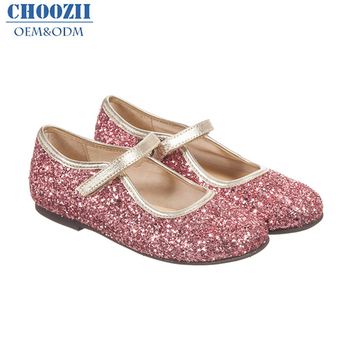 f25b188d3f92 Latest Design Pink Glitter Children Mary Jane Girls Shoes Kids Party Shoes  Girls