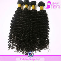 100% Human Hair 5A Kinky Curly Wholesale Virgin Indian Hair