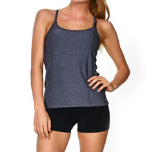 race back quick dry breathable short zumba bamboo active wear clothing