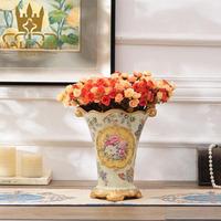 Wedding Decor Gift Handmade Craft Decorative Porcelain Flower Vase