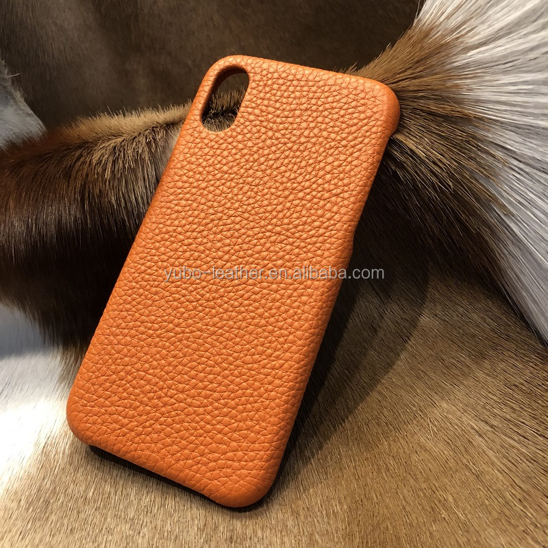 For Genuine Leather iPhone X Case , For iPhone X Case Leather ,Cell Phone Case for iPhone X