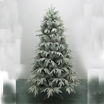 Artificial Pe Christmas Tree With White Flocking New ...