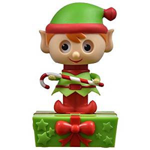 Adorable Elf Never Ending Dancing Solar Powered Toy ~ No need batteries ~ Christmas 2016