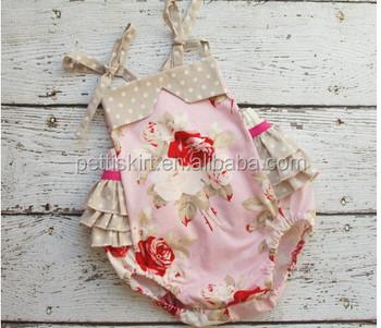 4ab30922ddd Smocked bubble baby romper set factory manufacturer children clothes bulk  sale organic cotton baby romper
