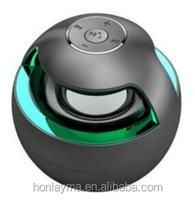 chritmas gift 2017 Mini Bluetooth Speaker Round Ball Shaped Hands Free Speaker Stereo Subwoofer Speaker for all bluetooth device