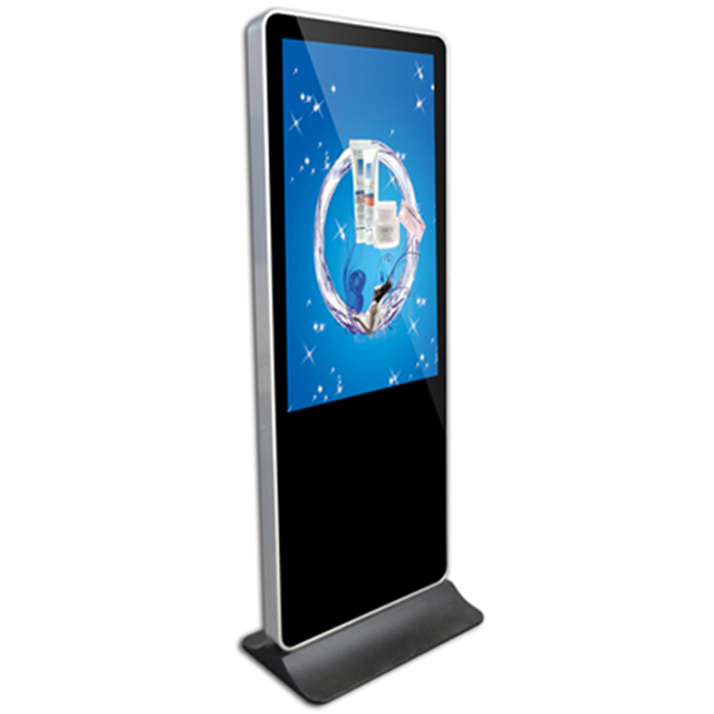 Outdoor fashion touch screen monitor digital signage shopping mall display stand