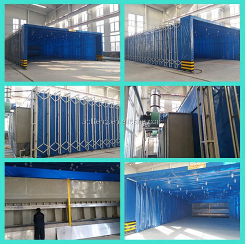 Mobile Retractable Spray Booth Folded Paint Cabin Buy