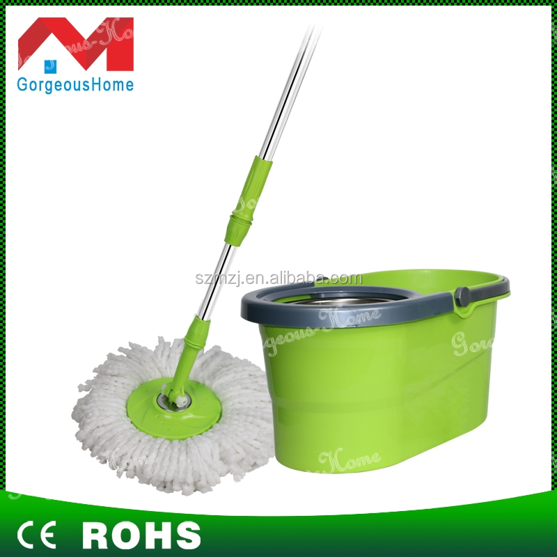 China factory wholesale price stainless steel handy 360 degree smart rotating spin mop