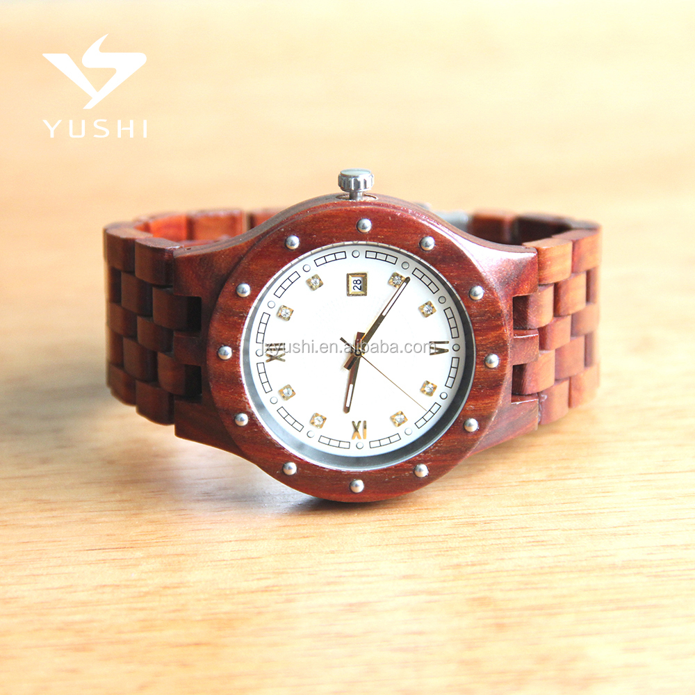 Fashion OEM/ODM Eco-friendly Mechnical wooden Watch 2017