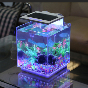2016 new style Interpet china LED Complete acrylic Aquarium Fish Tank for fish