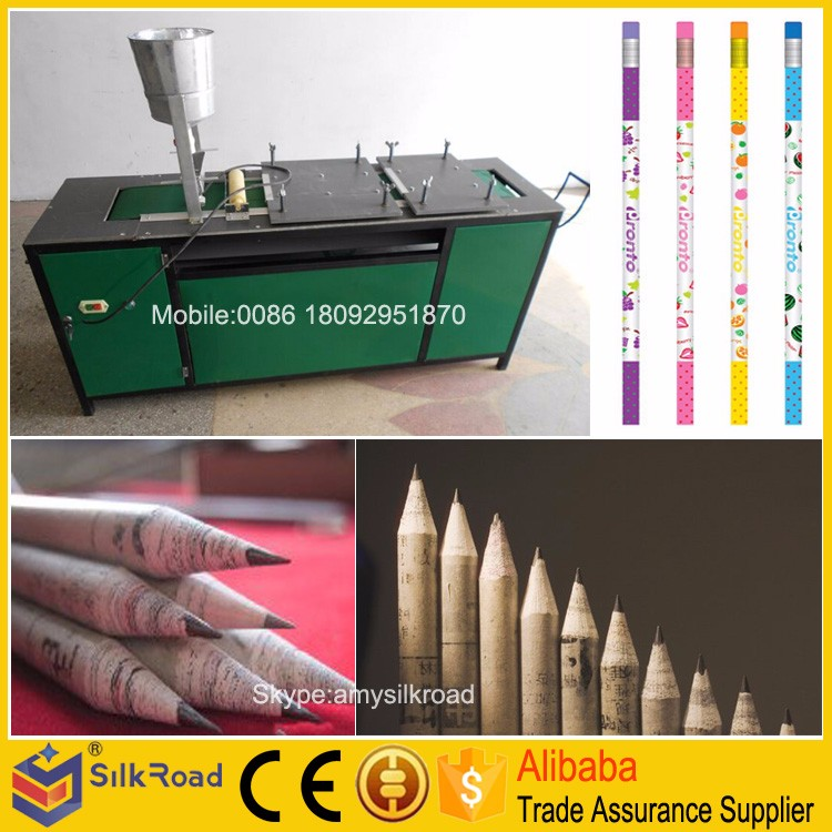recycled paper pencil machine