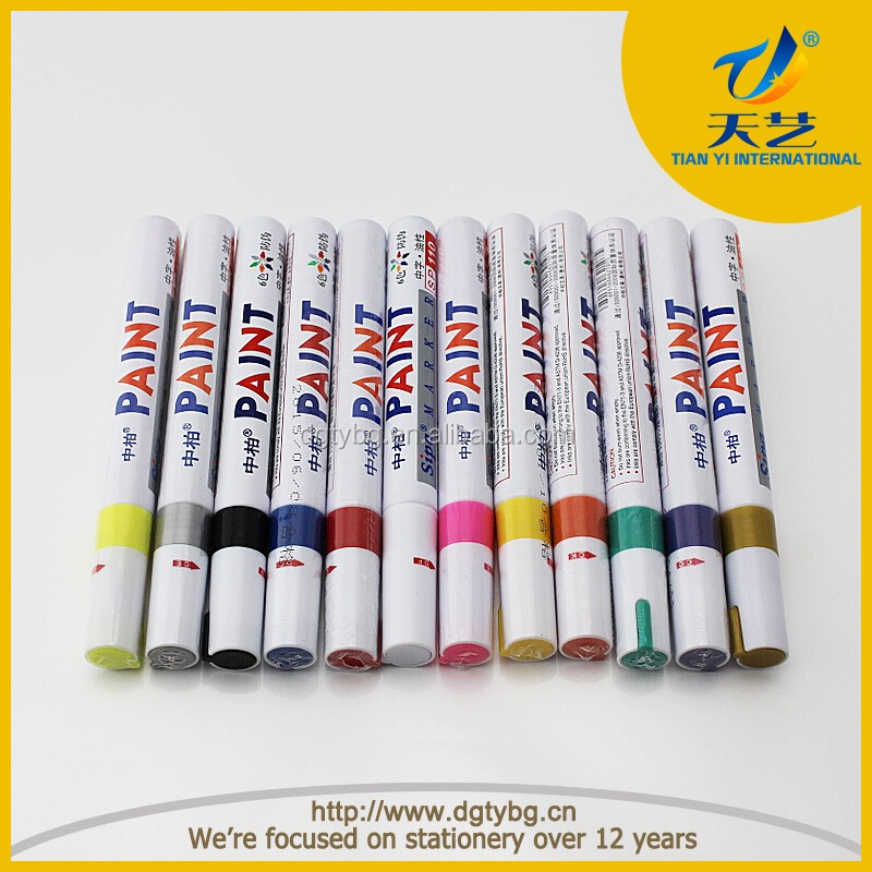 Aluminum Warcom Agent New Zealand: Promotional Oem Aluminum Barrel Sipa Paint Marker Pen
