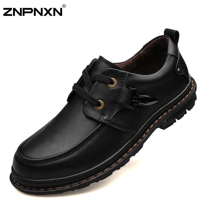 Get Quotations · Big Size 38-48 New 2015 Men Dress Shoes Casual Leather  Lace-up Shoes 3a73aee3bdb