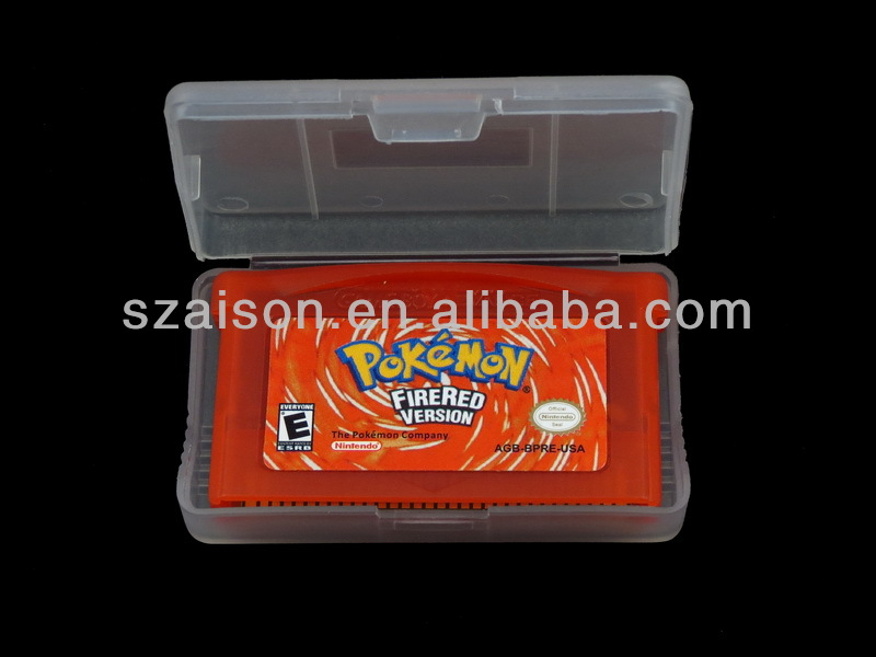 Manufacture pokemon games,video game for GBA ,used video game console