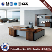 Standard office desk modern L shape executive office desk (HX-NT3235)