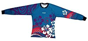 3ad0d79b2a3 Get Quotations · Reusch Maui Garden Women'S Pro-Fit Goalkeeper Jersey,  Adult Large, Teal Blue by