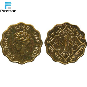 Manufacture metal crafts Factory custom ancient india coins