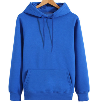 OEM wholesale stylish mens custom logo plain hoodie with thick string