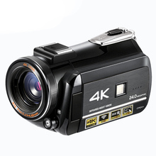 24 mega pixel/30 x zoom Digitale/3.0 ''touch display super 4 k video recorder