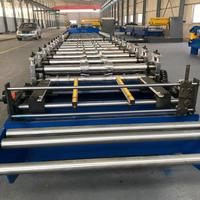 Automatic steel tile cutting machine Galvanized Ridge cap zinc roofing sheet roll forming machine
