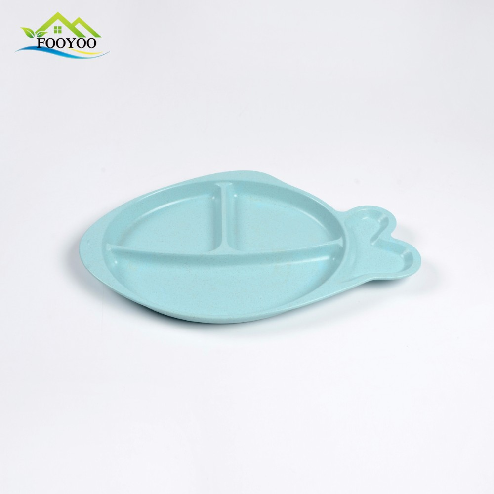 wheat straw biodegradable plastic lunch tray
