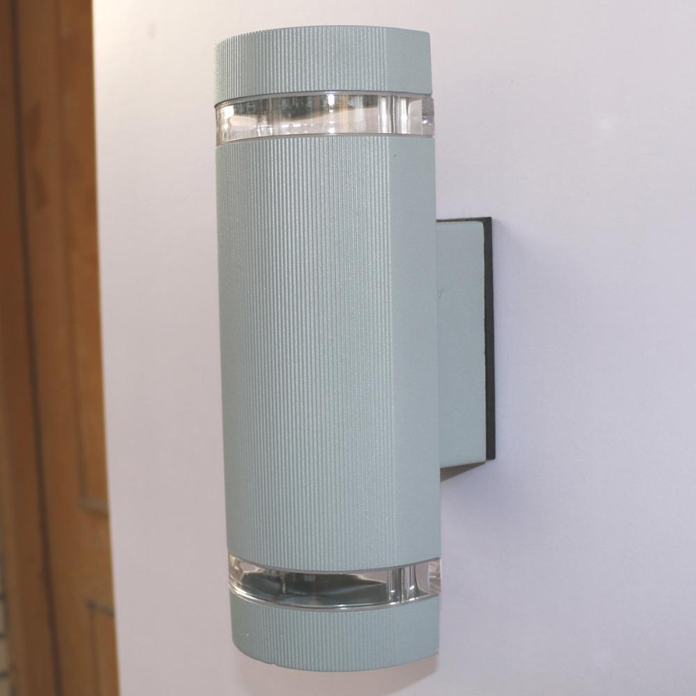 14w Semi Cylinder Up Down Indoor Outdoor Exterior Garden
