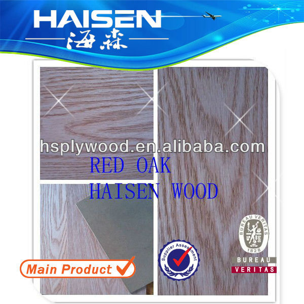 plyboard,red oak veneer board for decoration with great quality