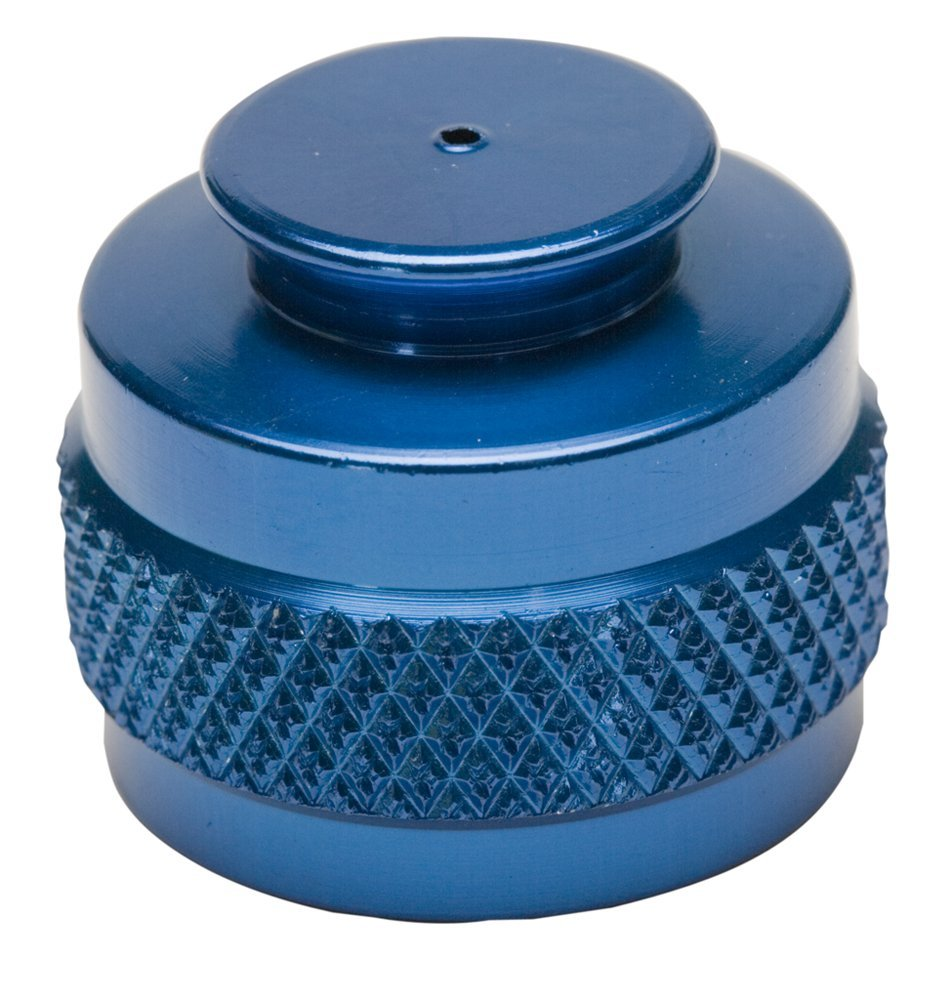 Pure Energy CO2 Tank Thread Protector Blue