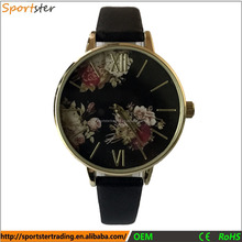 2017 Fashion Flower Dial China Geneva Quartz Watches