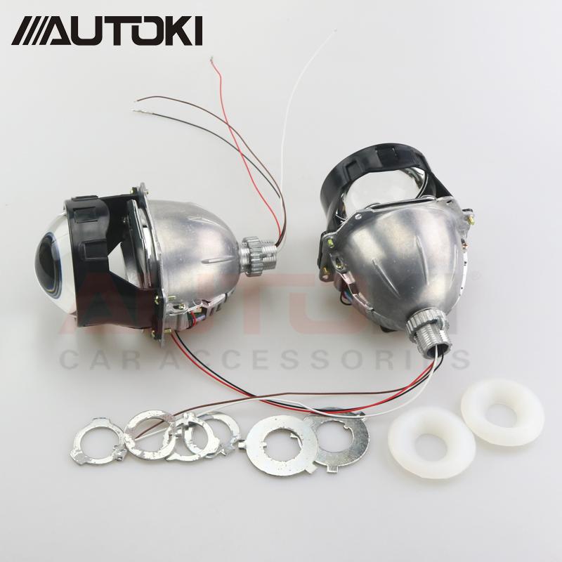 AUTOKI M Series BILED Projectors Lens For H4 H7 9005 9006 Headlight