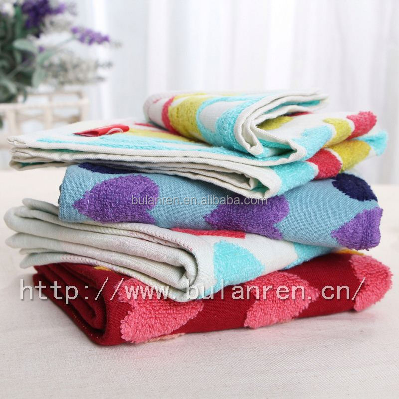 Latest Hot Selling custom printed linen tea towel