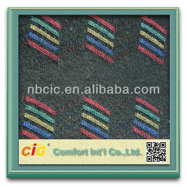 Tricot Yarn Dyed Jacquard Car Seat Upholstery Fabric