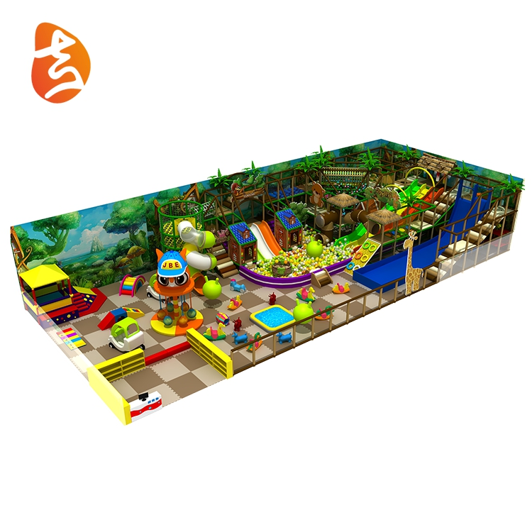 Best selling attractive kids indoor playground with ball pool