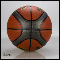 Composite leather official basketball for Amateur training
