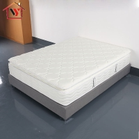 Home Furniture Natural Latex Sleep Easy Bed Pocket Spring Mattress