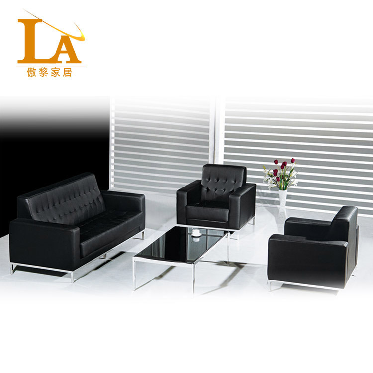 Get Quotations · Factory Direct High Grade Office Sofa Modern Minimalist  Leather Sofa Parlor Sofa Reception