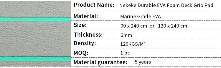 Deluxe leather texture yacht deck pad 240x90cm 6mm thick Marine Flooring Faux Teak EVA Foam Boat Decking Sheet