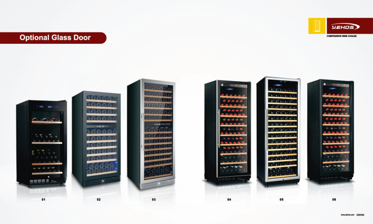 50L 16 bottles single zone thermoelectric mini wine cooler/cellar/chiller Beer Shelf BW-50A