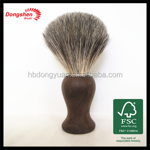 pure badger hair shaving brush beard care products