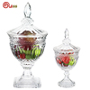 Accept custom order clear glass wholesale mini candy jars